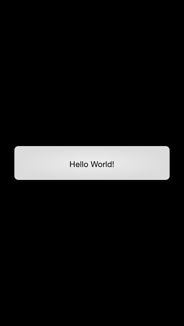 RubyMotion Hello World