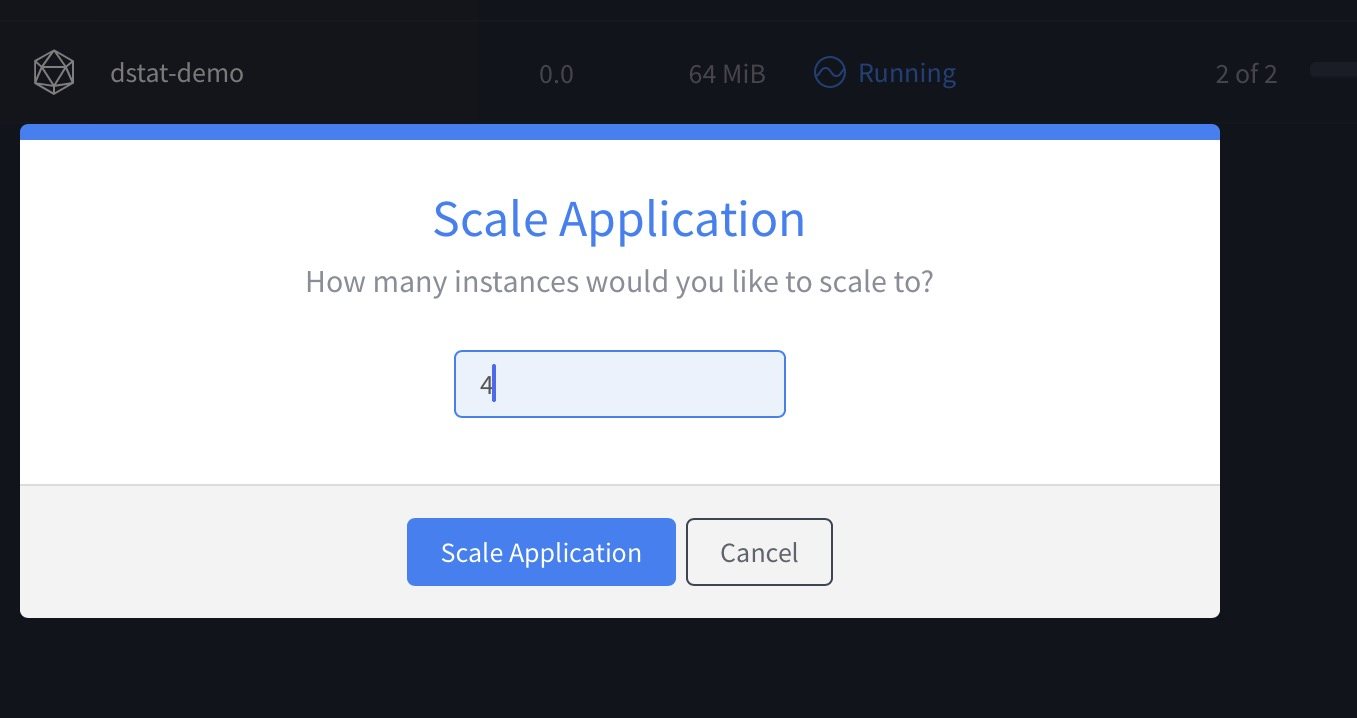 Scale Application 2